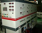 A式を製造するマシーン(3色機)